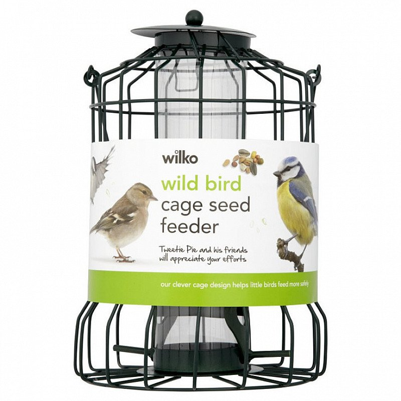 Spring is coming - Wilko Wild Bird Seed Cage Feeder: SAVE £2.00!