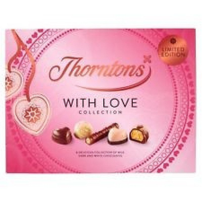 Valentines Day Gift Ideas - Thorntons Limited Edition Spring Assorted Collection with Love £3.00!