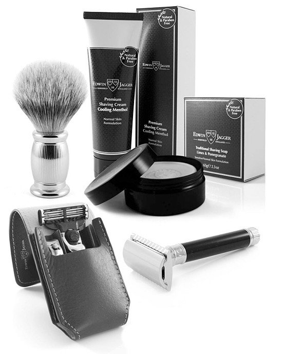 Get Edwin Jagger Male Grooming Sets with us