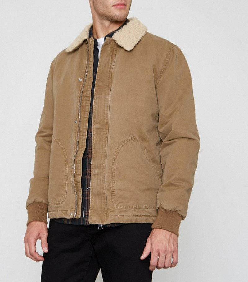 SALE - Stone borg collar jacket: SAVE £40.00!