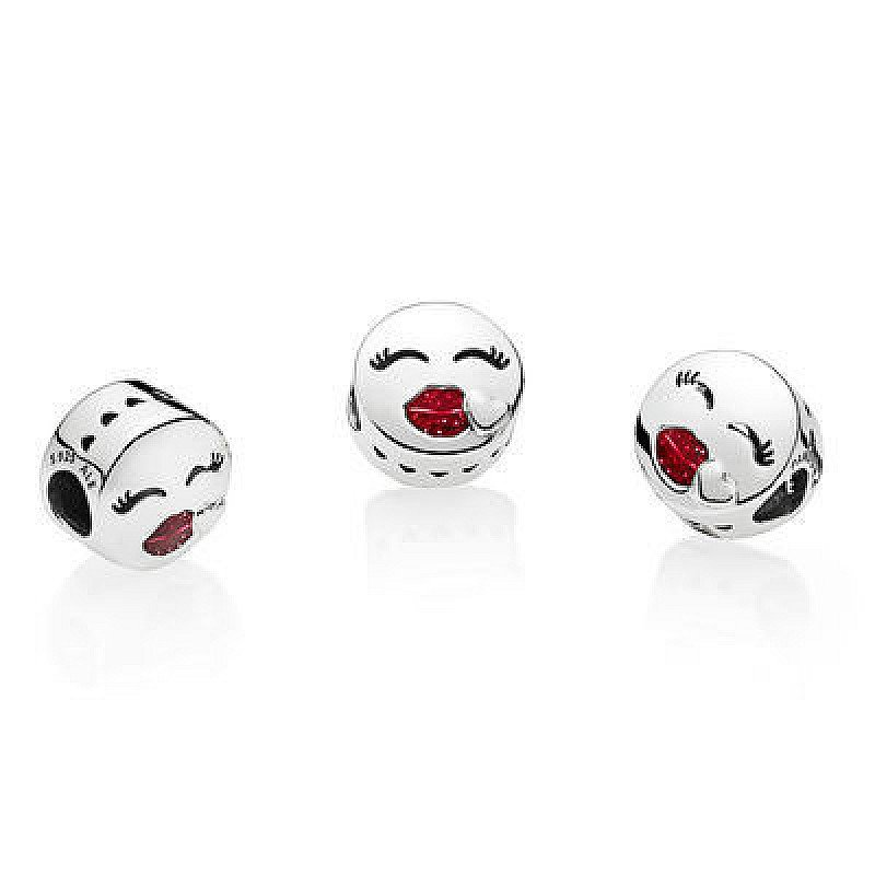 Valentines Day Gift Ideas - Kiss Charm: £35.00!
