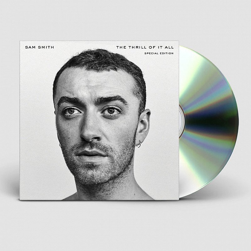 Valentine's Day Gift Ideas - CD The Thrill Of It All by Sam Smith: SAVE £4.00!