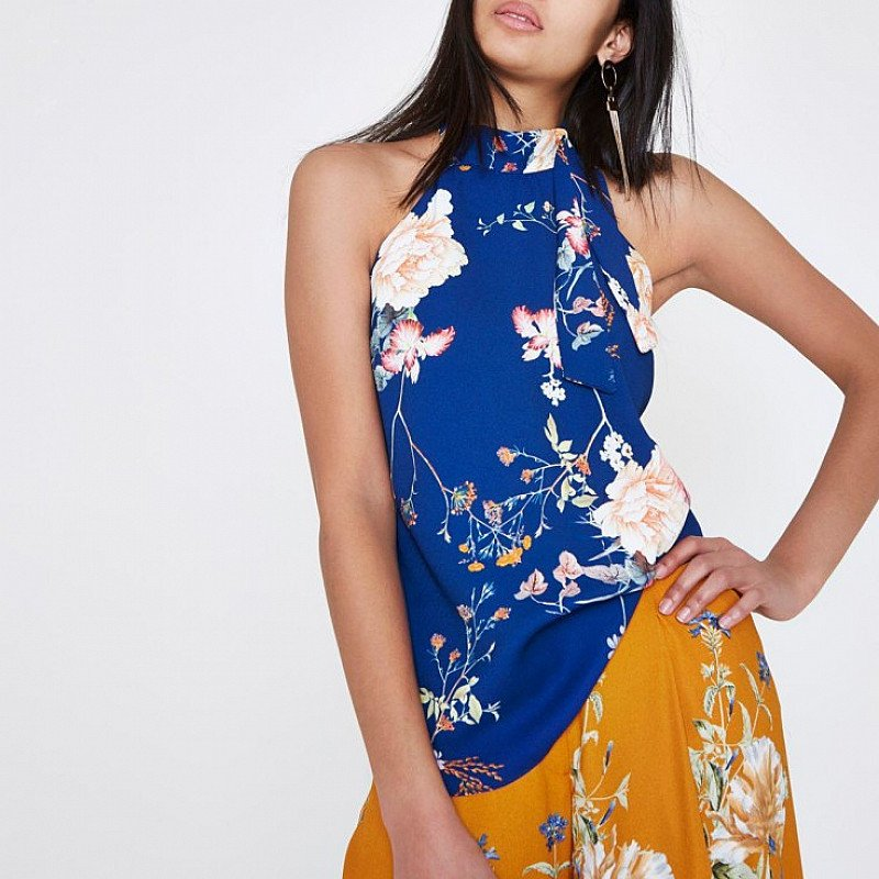 Get £20 off this Beautiful blue floral top