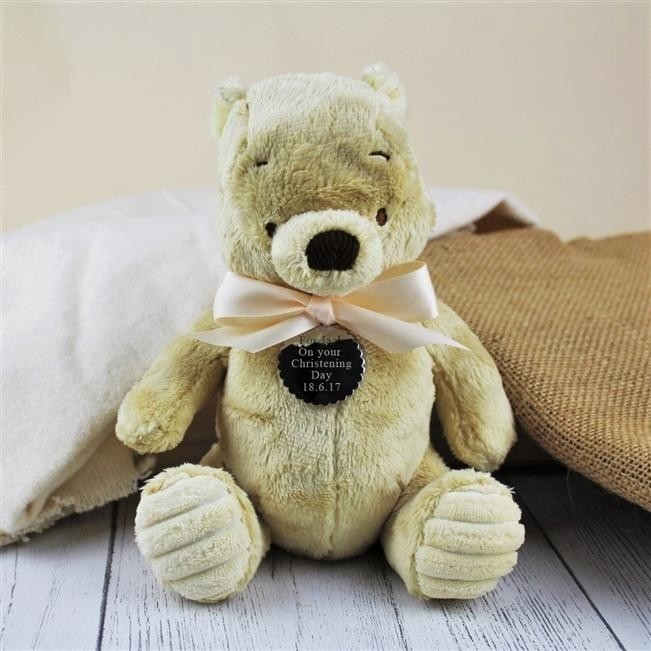 Personalised Classic Winnie The Pooh Soft Toy £26